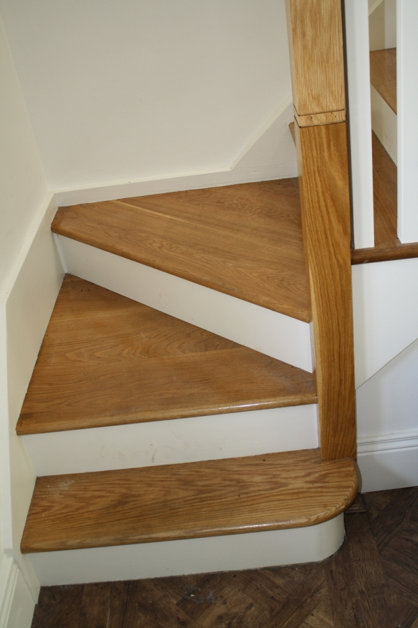Stairs gallery stairs dublin for Painted stair treads